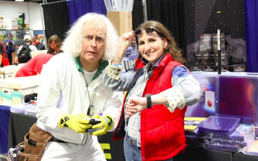 Disfraces para parejas de Halloween - Marty y Doc