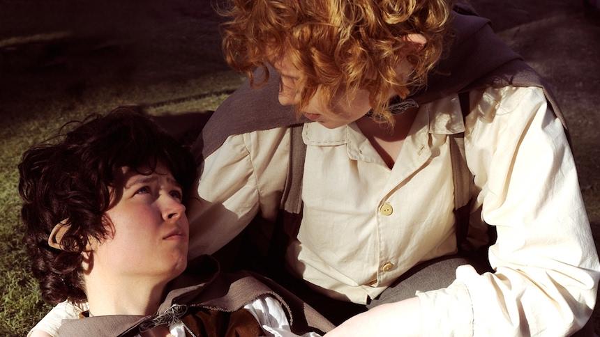 Disfraces para parejas de Halloween - Frodo y Sam