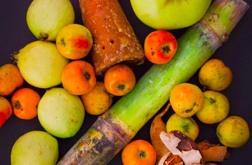 Frutas para ponche