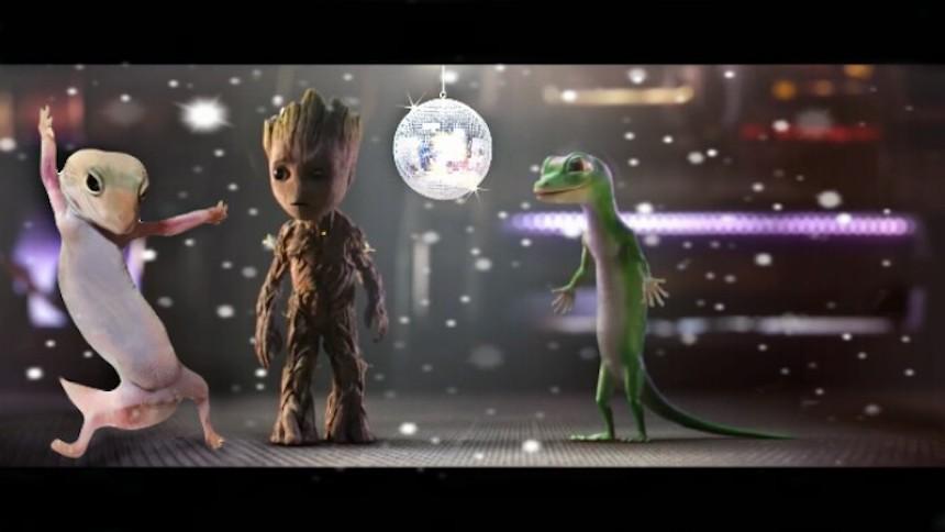 Dave el gecko - Groot