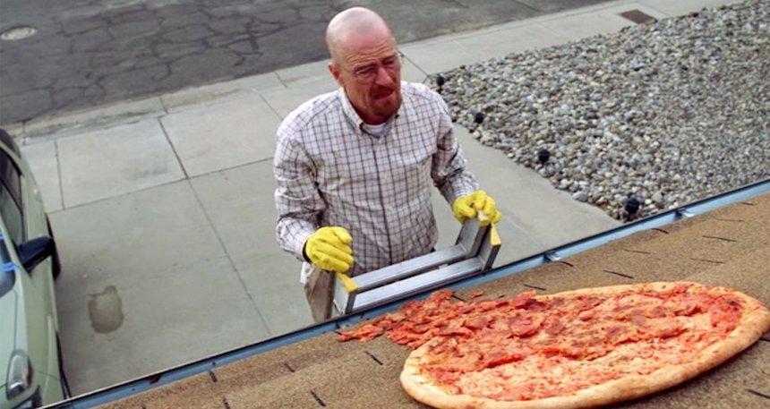 Breaking Bad - Escena de la pizza