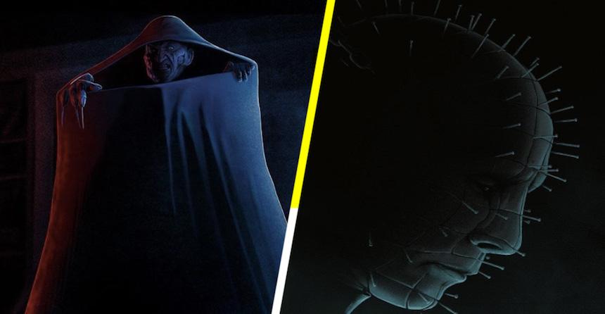 Nightmare on Elm Street y Hellraiser: Clásicos del horror en vinilos