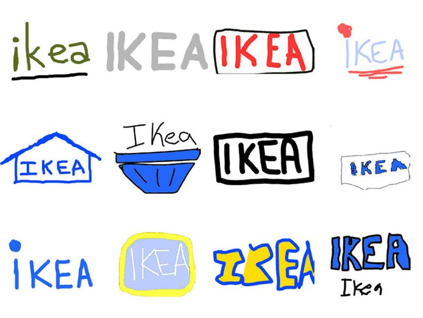 IKEA - Dibujos de los logos