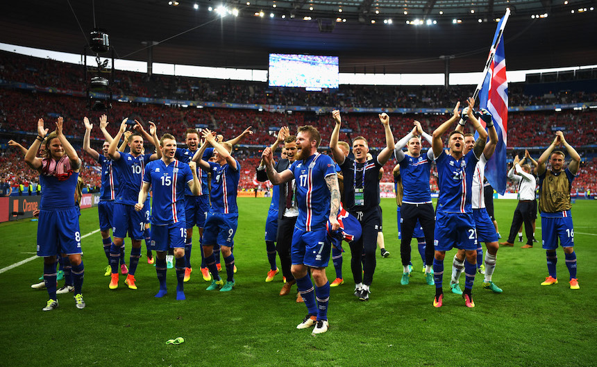 Resultado de imagen para islandia clasifica al mundial