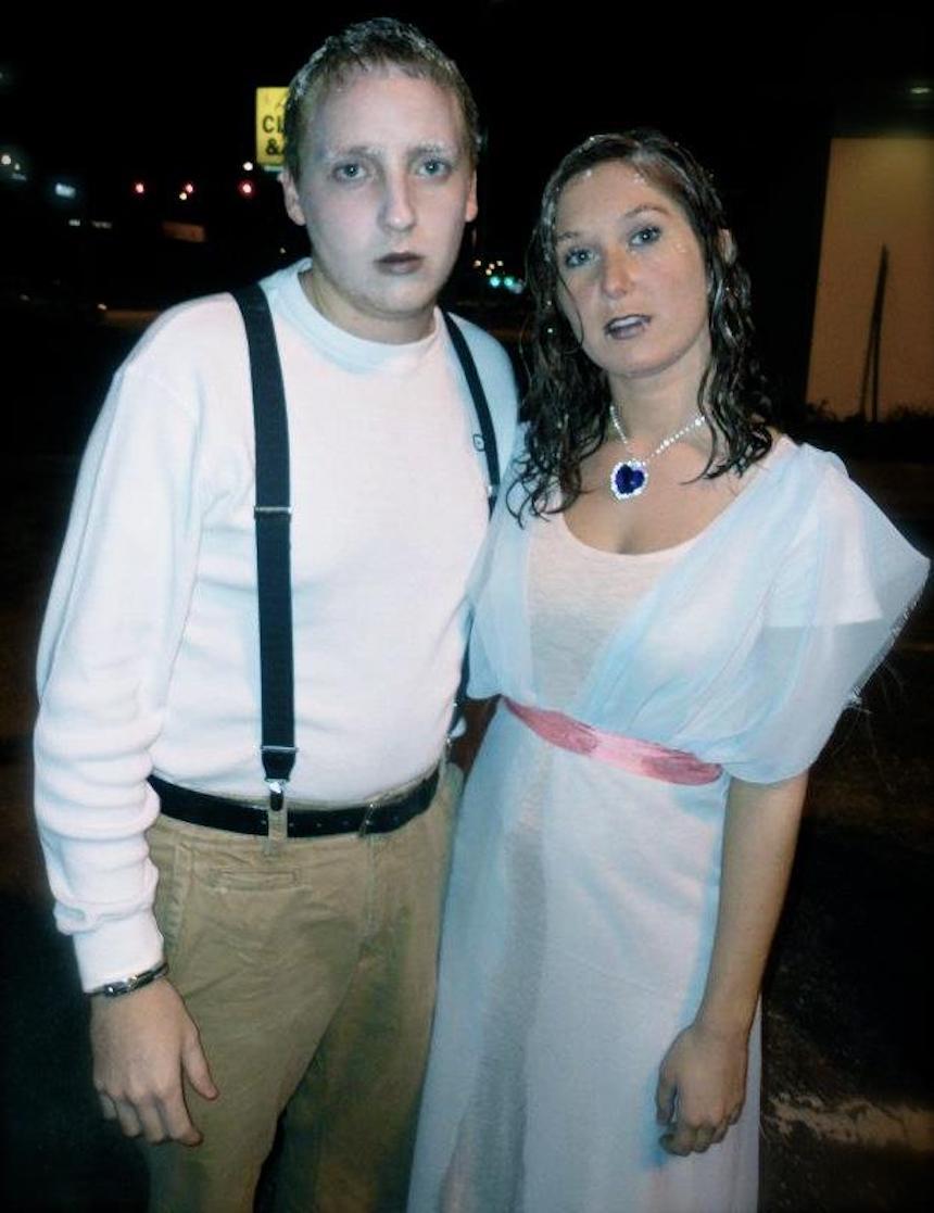 Disfraces para parejas de Halloween - Jack y Rose