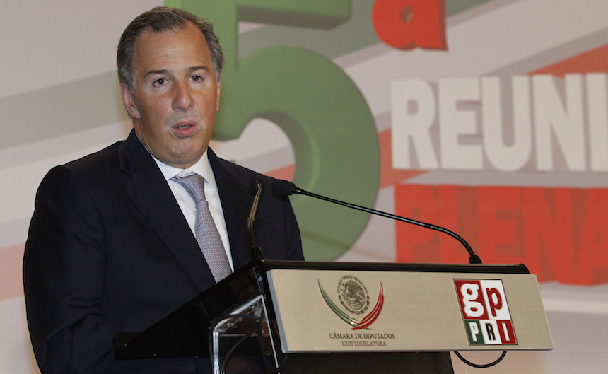 José Antonio Meade, secretario de Hacienda y Crédito Público