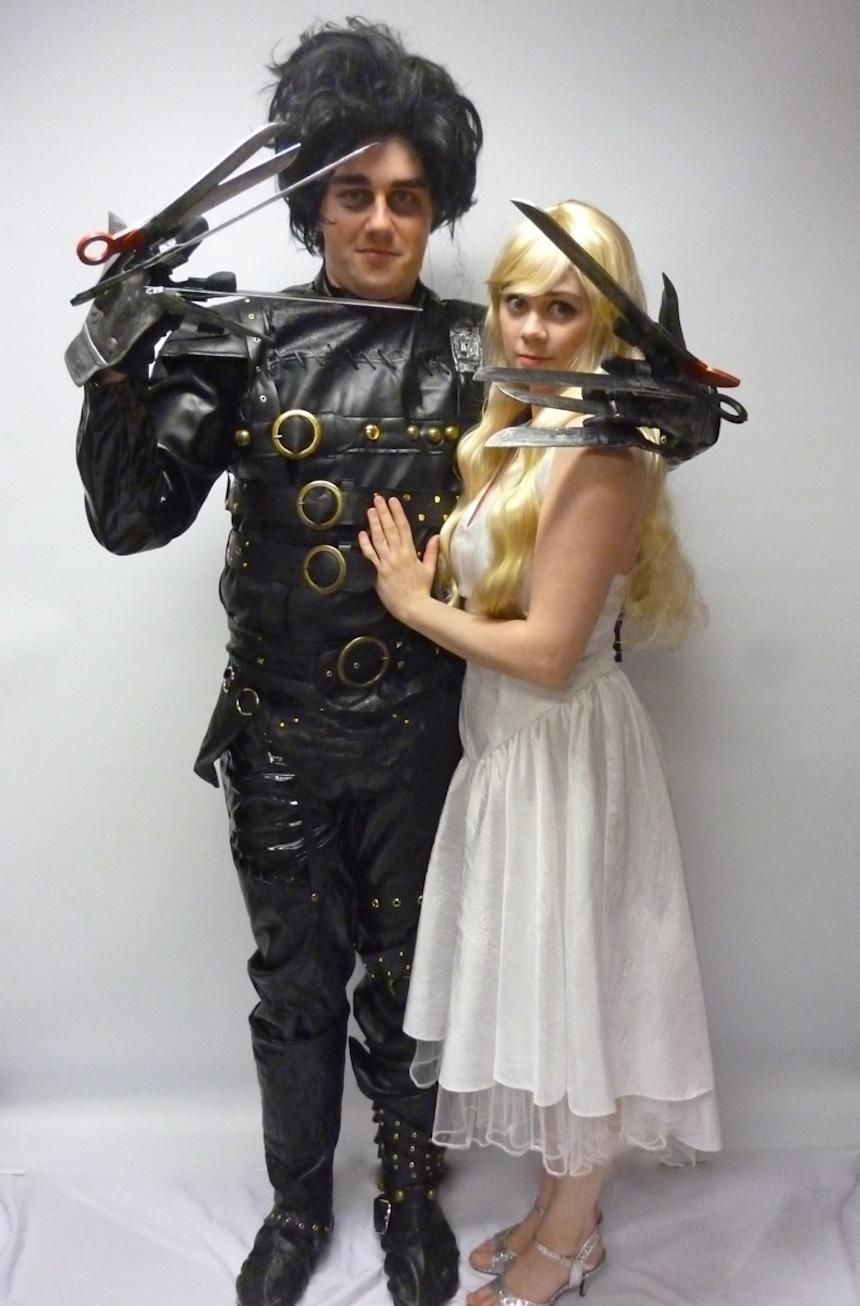 Disfraces para parejas de Halloween - Edward y Kim
