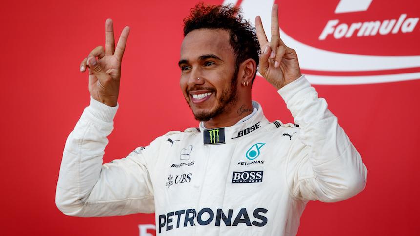 Lewis Hamilton ganó el GP de Japón y se sigue separando en la punta