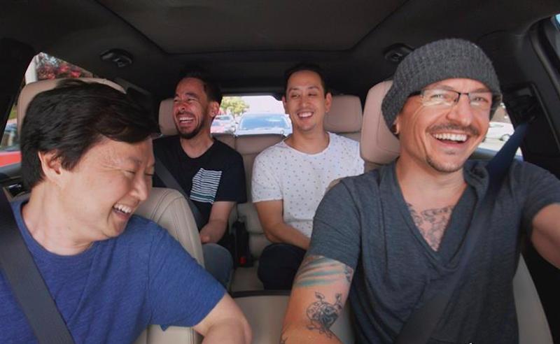 Mira el Carpool Karaoke de Linkin Park con Chester Bennington