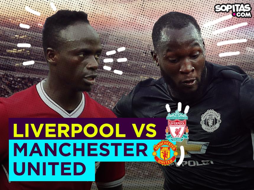 ¡PARTIDAZO! Disfruta en vivo del Liverpool contra Manchester United