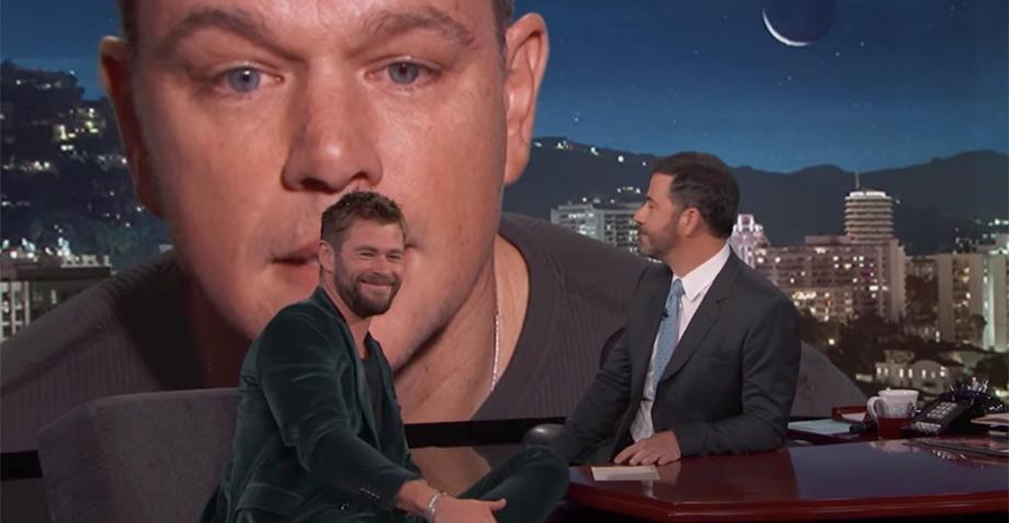 Matt Damon interrumpe entrevistas de Thor y Hulk y sus reacciones son ÉPICAS