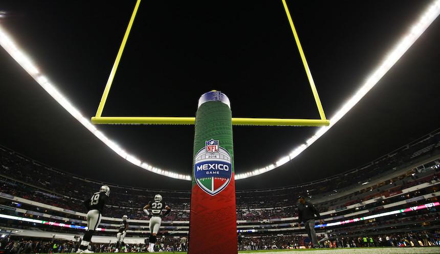 La NFL y la SECTUR informan que todo está bien para el partido en el Estadio Azteca