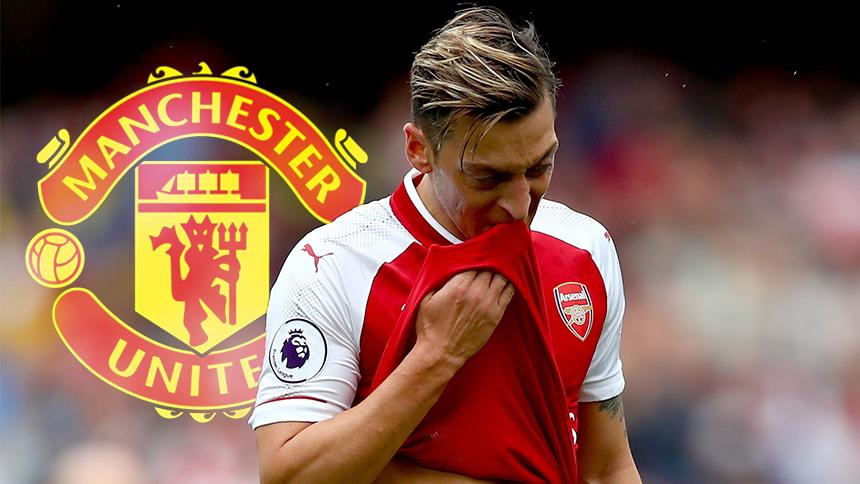 ¡Ay dolor! Mesut Özil se iría al Manchester United