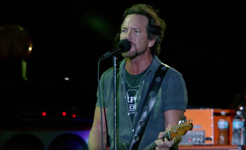 Pearl Jam anuncia más proyecciones de su documental en México
