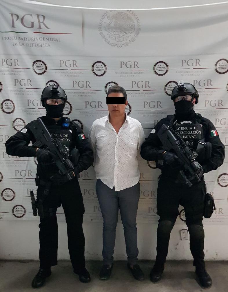 El operador Nazario Cavazos fue detenido por elementos de la PGR