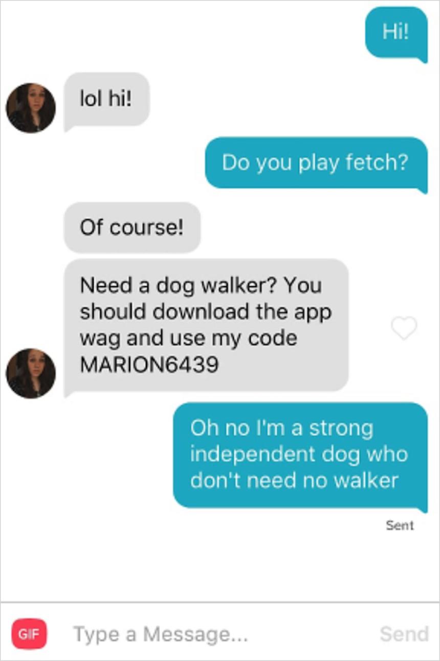 Phil, el perrito de Tinder - Caminatas