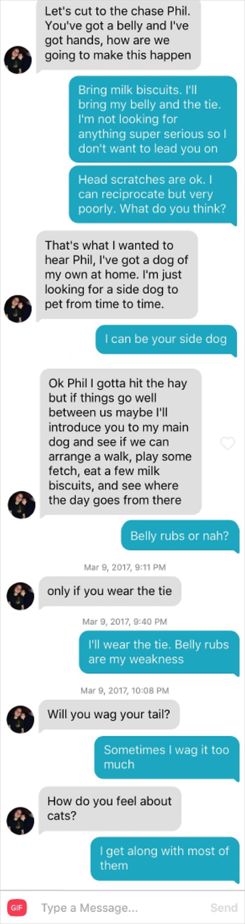 Phil, el perrito de Tinder - Ligue
