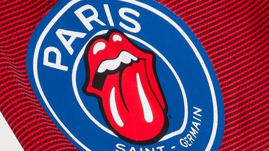 Rock & Fut: El PSG y The Rolling Stones presentan el jersey más rockero del fútbol