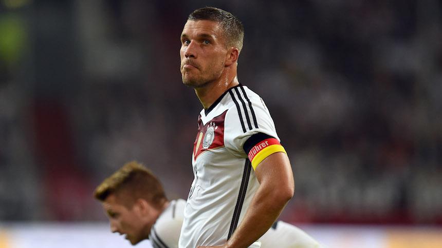 Hoy en las Antipromesas: Lukas Podolski; un campeón del mundo que no dio el ancho