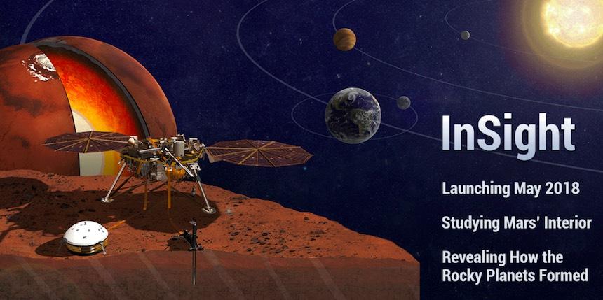 InSight Mars Lander - Misión