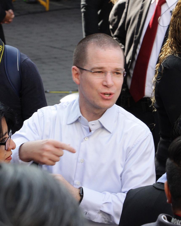 Ricardo Anaya, dirigente nacional del PAN