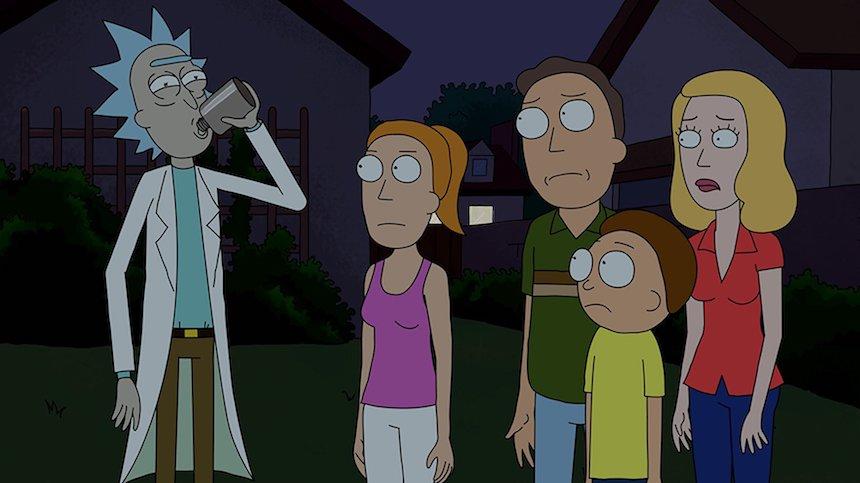 Disfraz - Rick and Morty