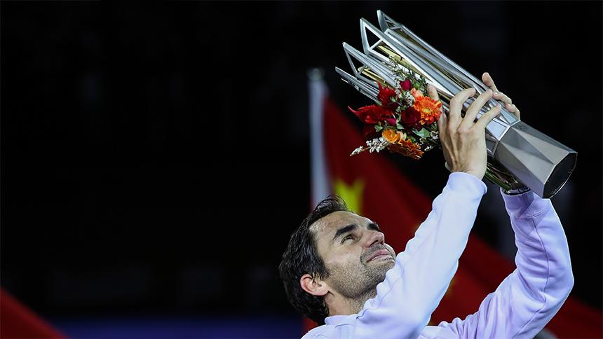 Roger Federer iguala la racha de más victorias en la rivalidad con Rafael Nadal