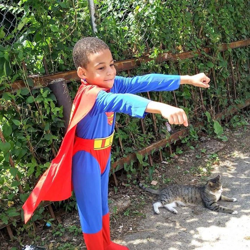 Shon y los gatitos - Superhéroe
