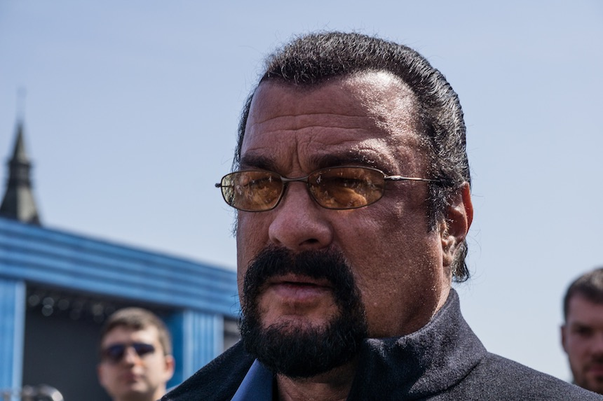 Actores fantasmas - Steven Seagal