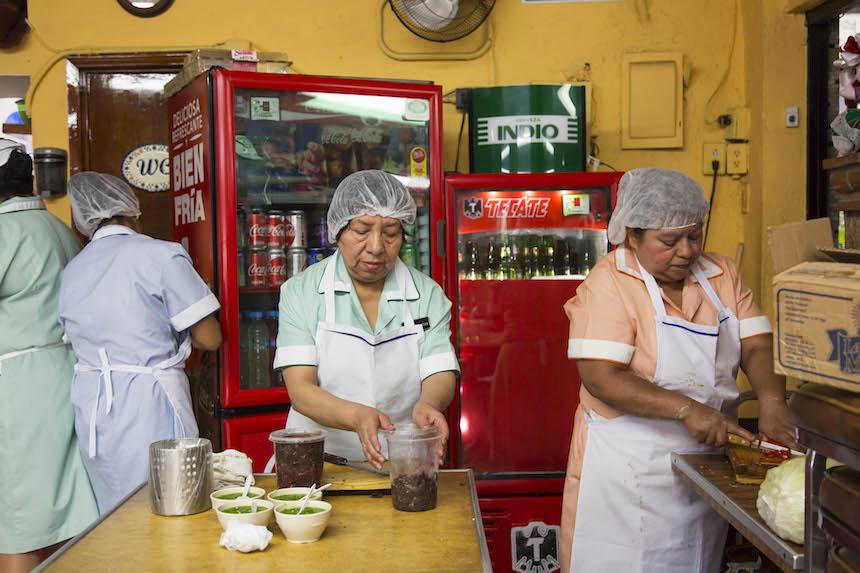 Tacos en la Ciudad de México - Beatricita