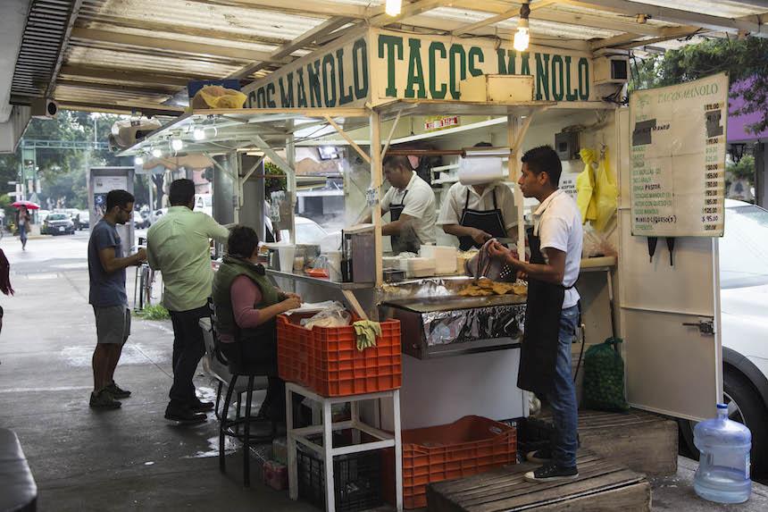 Tacos en la Ciudad de México - Tacos Manolo