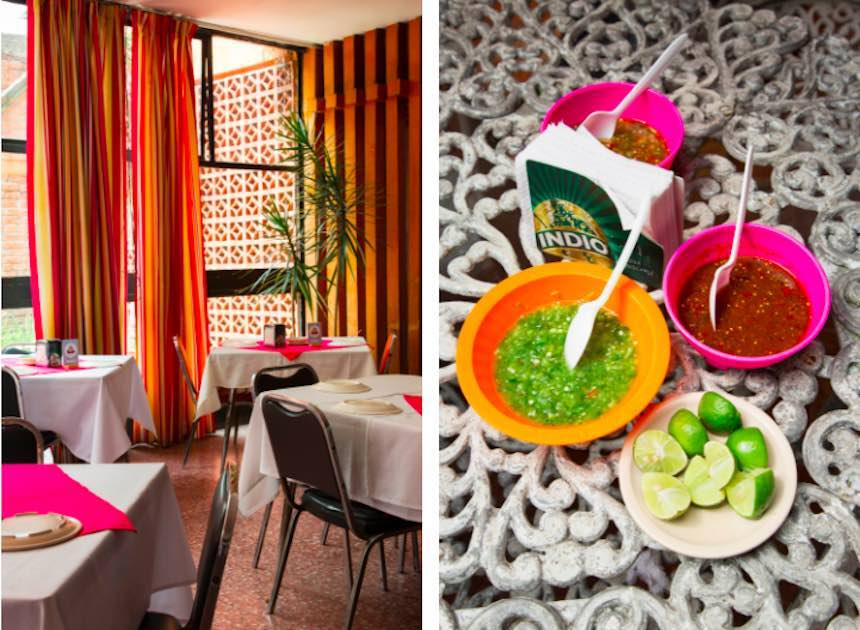 Tacos en la Ciudad de México - El Venadito