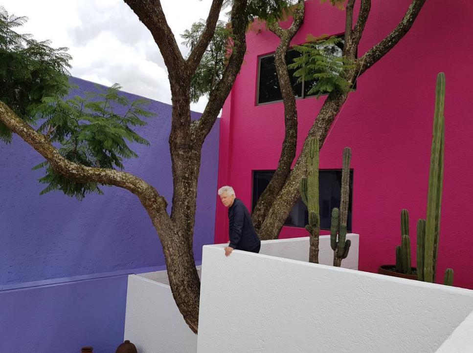 U2 visita casa Barragán
