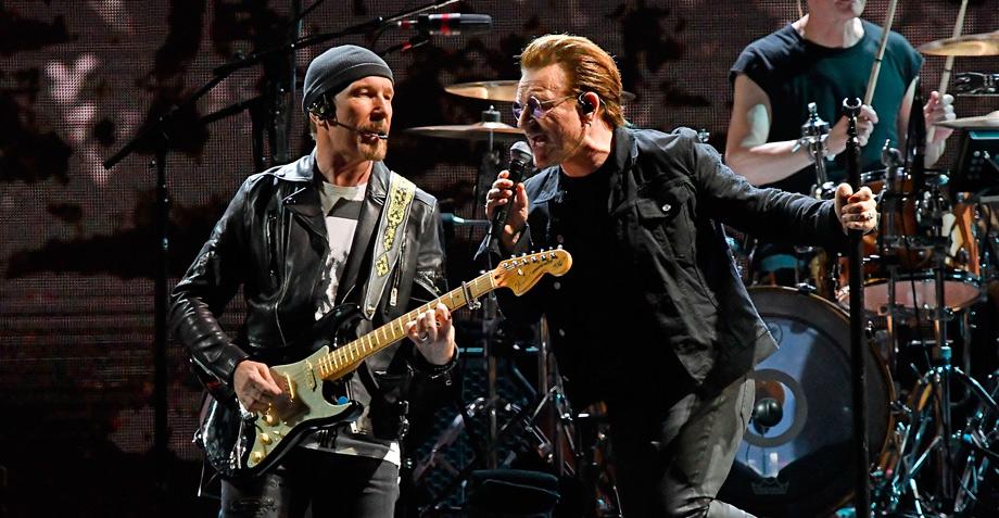 Los cinco mejores momentos del concierto de U2