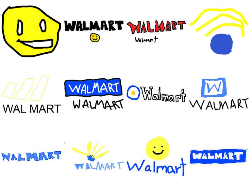 Walmart - Dibujos de los logos