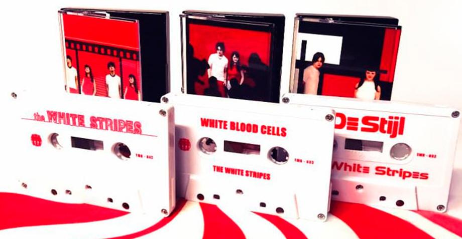 The White Stripes relanzará sus primeros álbumes en casete