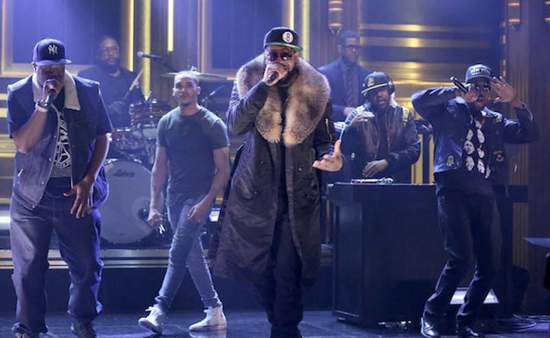 Wu-Tang Clan estrena su nuevo álbum en el show de Jimmy Fallon