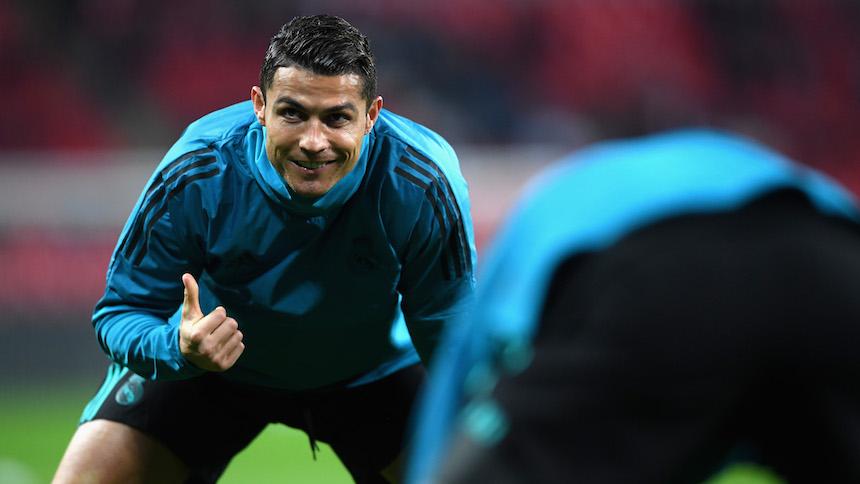 Video: De cuando puedes presumir que te 'abrazaron' los guaruras de Cristiano Ronaldo