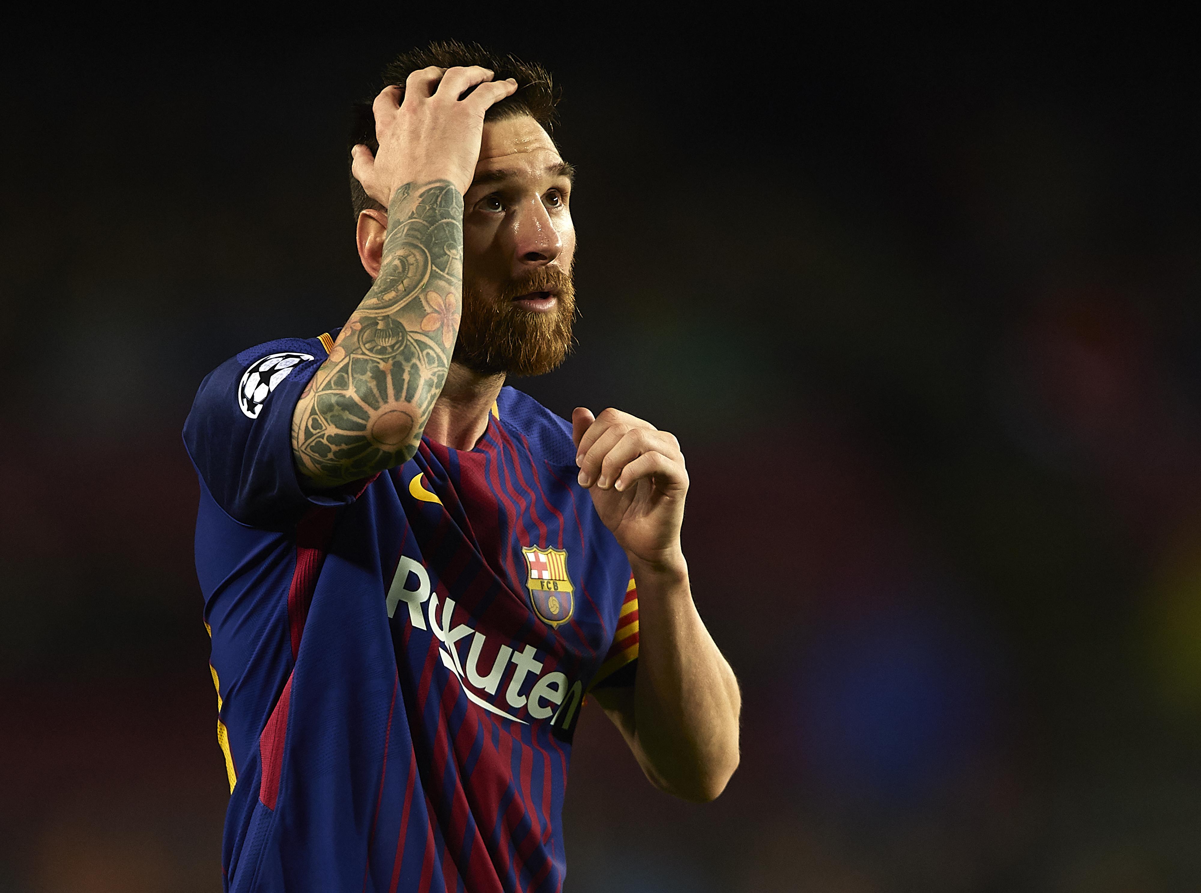 La que le aplicaron a Messi en la entrega de la bota de oro