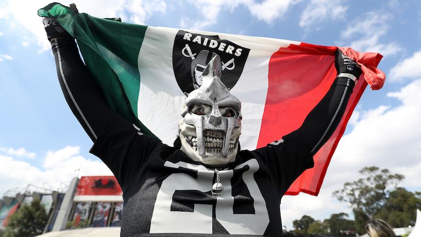 Patriots vs. Raiders en fotos, mira lo mejor de la NFL en México