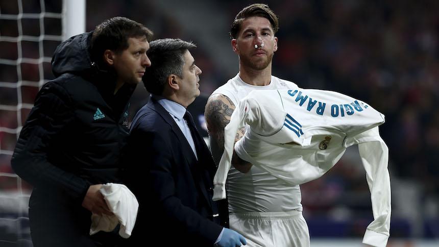 Sergio Ramos podría ser baja en Madrid y el Madrid podría ser baja por el título de la Liga
