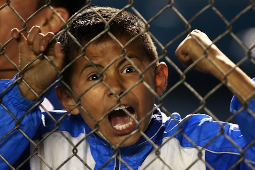 ¡Qúe bonito! Niño rompe en llanto después de ver a Cruz Azul en Liguilla