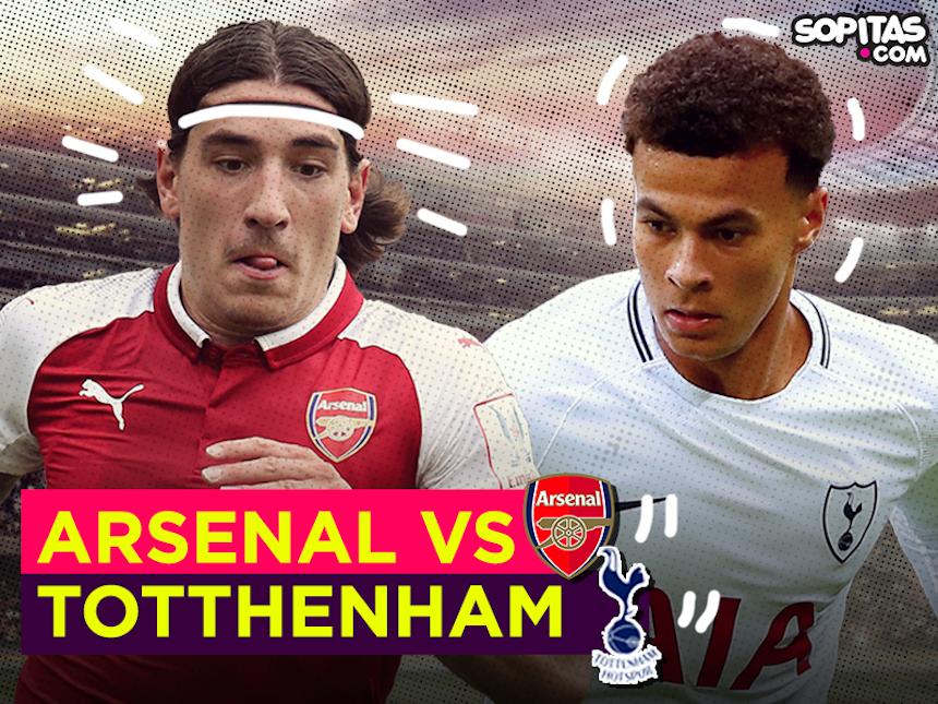 ¡Partidazo madrugador! Disfruta en vivo del Arsenal vs Tottenham
