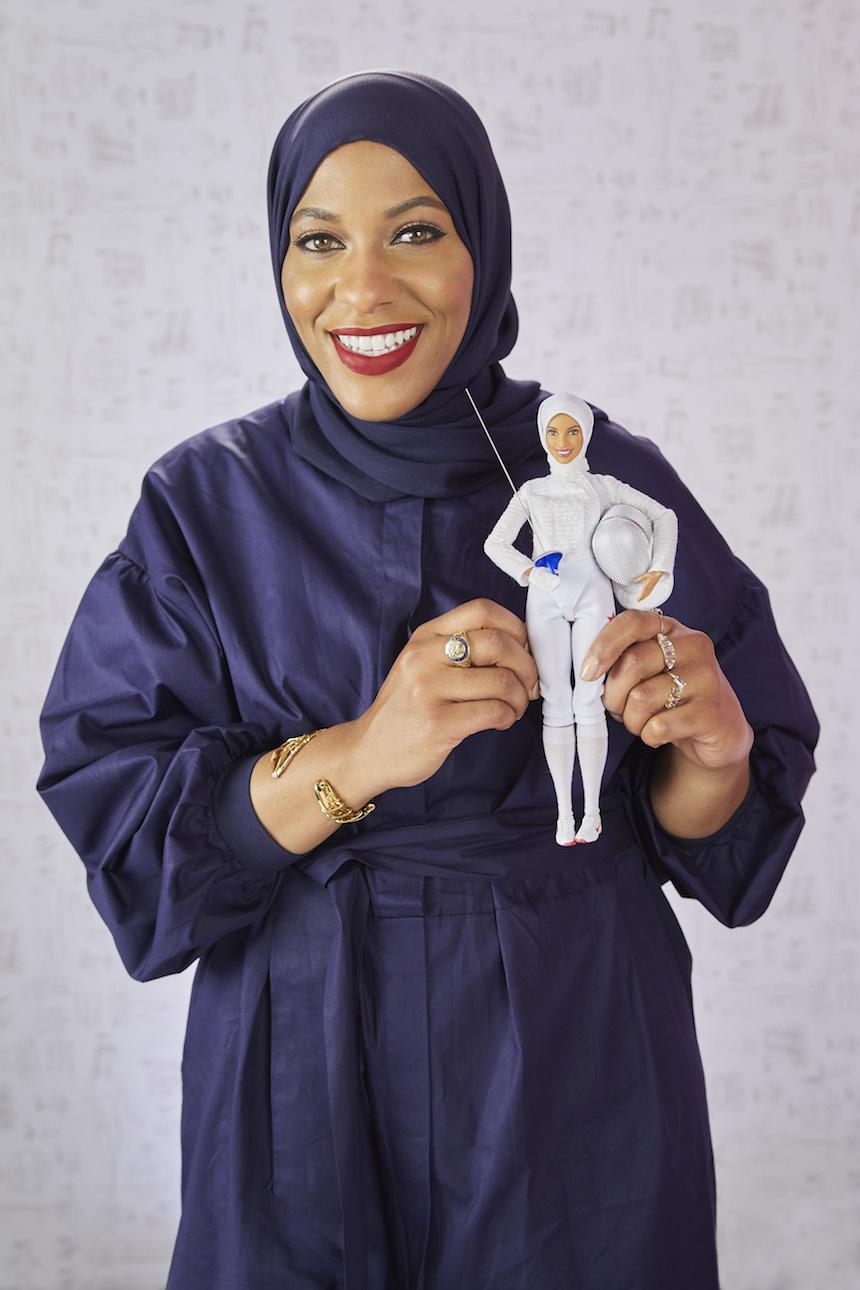 Muñeca Barbie - Diseño inspirado en la atleta Ibtihaj Muhammad