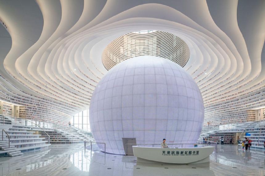 China - Biblioteca más grande del mundo