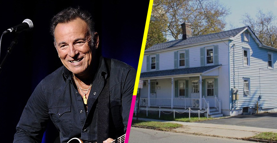 Bruce Springsteen pone a la venta la casa de su infancia por sólo 270K dólares…