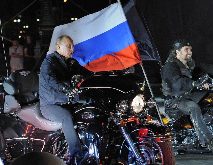 Calendario de Vladimir Putin 2018 - Motocicleta