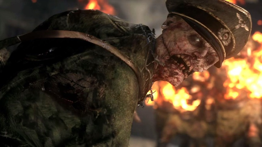 Call of Duty: WWII - Modo zombie