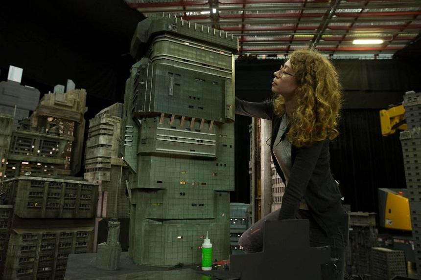 Escenarios miniatura de Blade Runner – Detalles