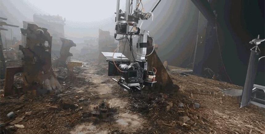 Escenarios miniatura de Blade Runner – Filmación